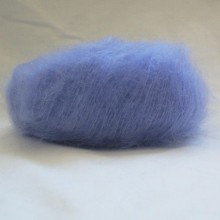 fil à tricoter chèvre angora lilas