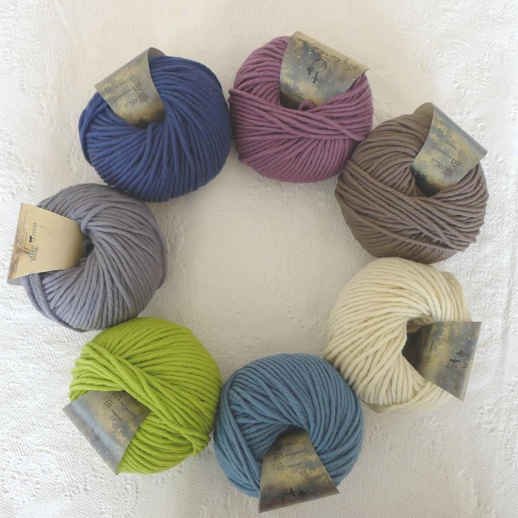 Fil à tricoter Mérinos